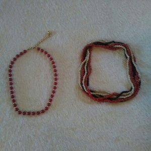 Jewelry - Vintage Beaded Necklaces